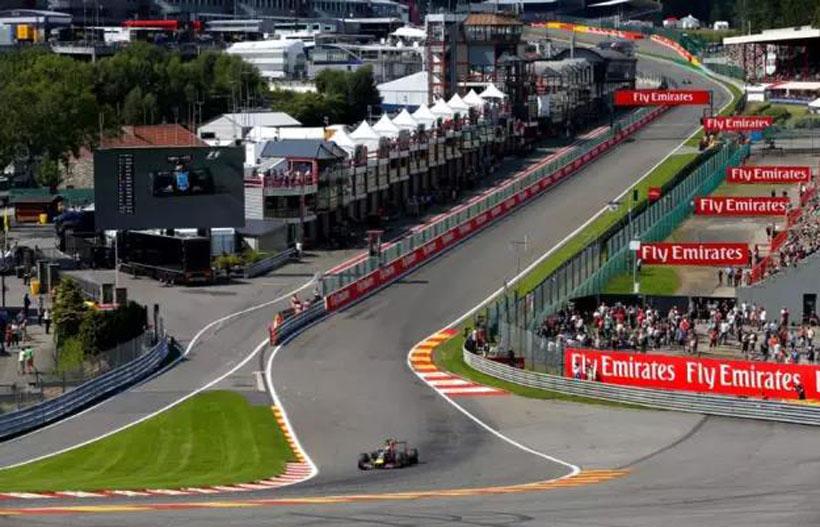 F1比利时-斯帕赛道主图