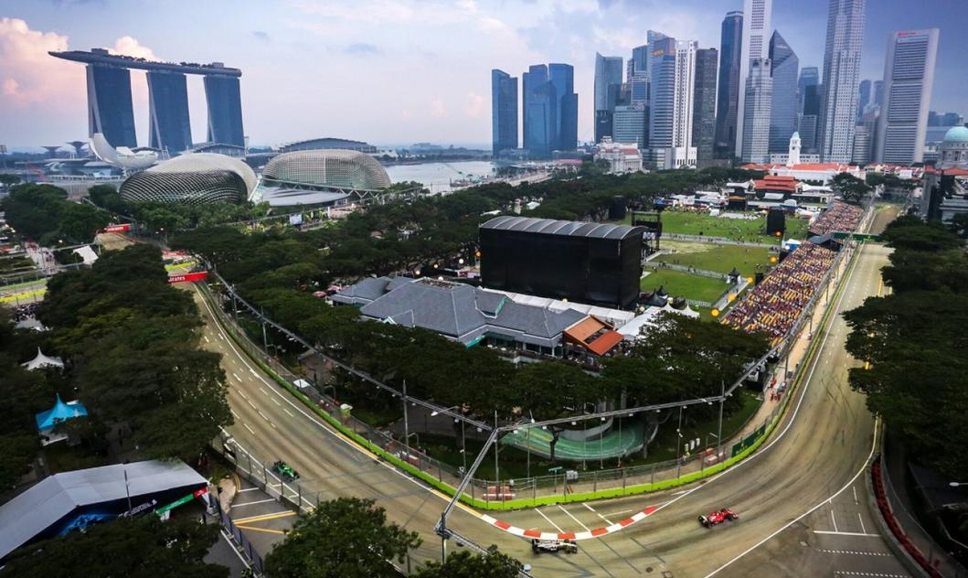 F1新加坡-滨海湾接到赛道主图