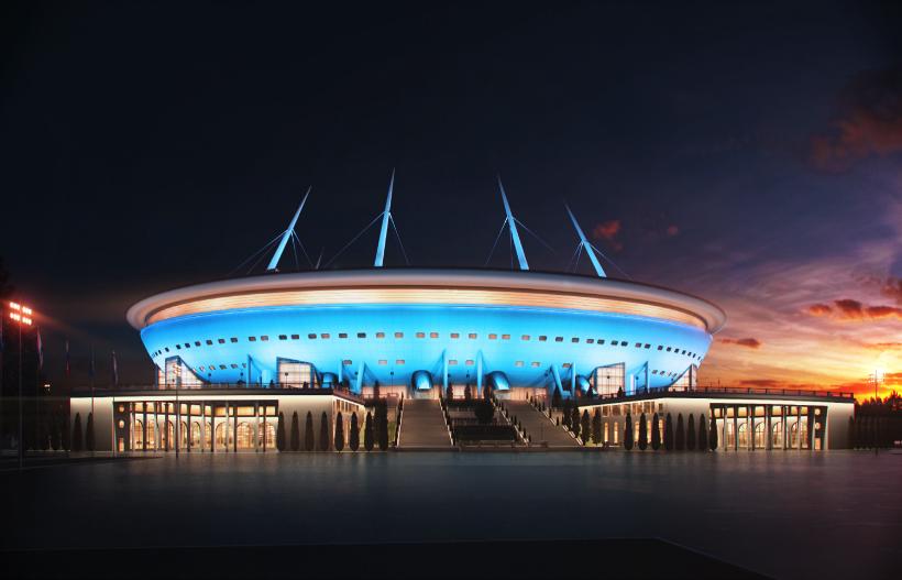 2017俄罗斯联合会杯-克雷斯托夫斯基体育场3