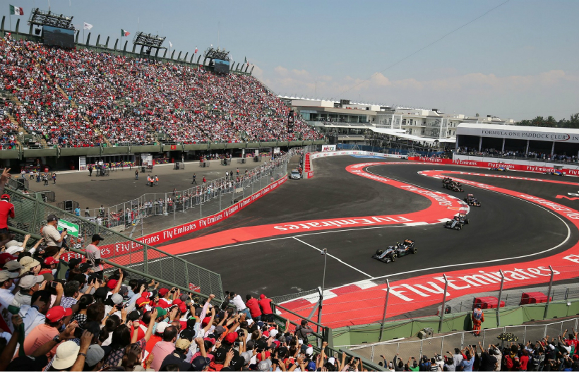 F1 - 墨西哥大奖赛 - 罗德里格斯兄弟赛道1