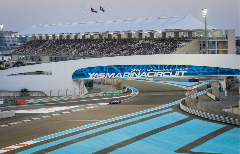 F1 - 阿布扎比大奖赛 - 亚斯码头赛道1